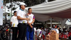 Ribuan Masyarakat Warga Tangerang Ikut Meriahkan Millenial Road Safety Festival