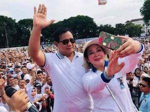 Para Pendukung Capres 02 Ingin Prabowo -Titiek Soeharto Rujuk
