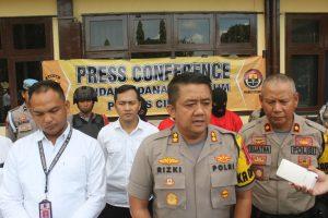 Tiga Pelaku Curanmor Berhasil diamankan Resmob Polres Cilegon