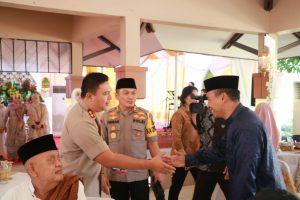 Kapolda Banten Laksanakan Shalat Idul Fitri 1440 H Berjama'ah dan Open House Bersama Anggota