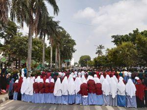 Lakukan Sholat Gaib, Angkatan Muda Muhammadiyah Mendoakan Almarhum Randi