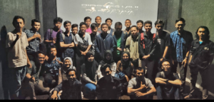 Nobar dan Sharing, UKM DCFC IIB Darmajaya Ajak Mahasiswa Baru Menyukai Film Indonesia