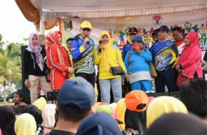 Bupati Lampung Timur Menghadiri Race Festival BMX Islamic Center Sukadana
