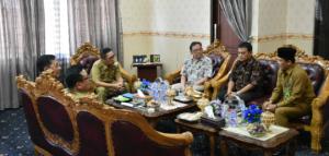 Bupati Zaiful Menerima Audiensi Dari UIN Syarif Hidayatullah Jakarta