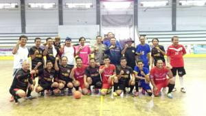 Kabid Humas Polda Banten Saksikan Pertandingan Futsal Porwaban PWI Banten