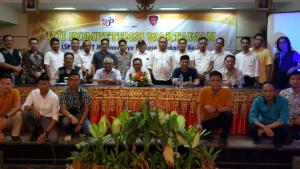 Medinas Lampung Bersama Dewan Pers Dan Penguji LSPR Gelar Uji Kompetensi Wartawan