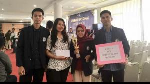 Mahasiswa IIB Darmajaya Juara Dua LCT Pasar Modal Investival 2019