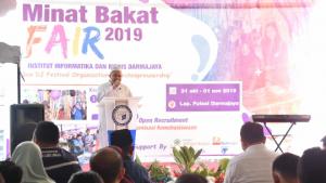 Mibat Fair 2019, Rektor Ingin Mahasiswa Darmajaya Contoh Sukses Nadiem
