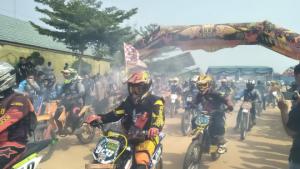 1100 Peserta Ikuti Trial Adventure Dalam Rangka HUT Mesuji Ke-11