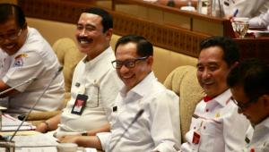 Rapat Kerja Perdana Mendagri dengan Komisi II DPR Bahas Rencana Strategis 2020-2024