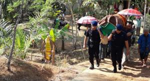 Satbrimob Polda Banten Laksanakan Sambang Duka Kepada Warga Naga Jaya, Sebagai Wujud Empati