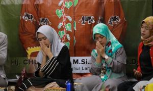 Nunik Ajak Masyarakat Berdoa Untuk Keberhasilan Pembangunan Lampung