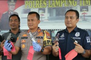 Polres Lampung Timur Berhasil Bekuk 56 dari 66 tersangka kejahatan