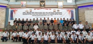 Dirbinmas Polda Banten Hadiri Apel Pelantikan Pengurus Senkom 2019-2024