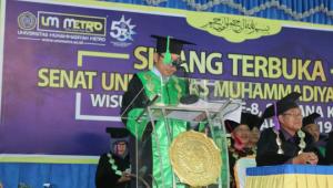 """UM Metro Milad Ke-53 Dan Wisuda Tahun 2019 """"Menghasilkan Lulusan Terbaik Dan Sang Juara"""""""