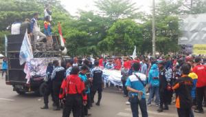 Amankan Aksi Unjuk Rasa, Polisi Himbau Untuk Jaga Kamtibmas