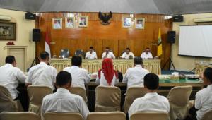 Zaiful Bokhari Memimpin Rapat Dana Alokasi Khusus Tahun Anggaran 2019