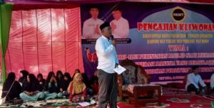 Kadis Staf Satpol PP Dan FPII Korwil di Way Kanan Sumbangkan Material Ke Ponpes Mifthahul Huda