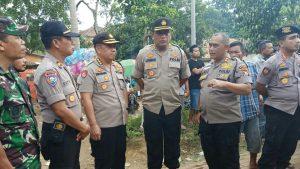 Karo Ops Polda Banten Lakukan Monitoring Pilkades Serentak di Kabupaten Pandeglang