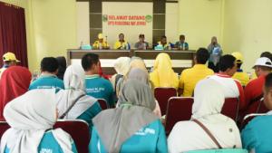 Bupati Lam-Tim Zaiful Bokhari Hadiri GERMAS Di kecamatan Way Jepara