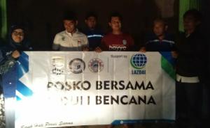 Dipimpin Mantan Anggota DPRD Lampung, Lazdai Peduli Salurkan Bantuan Korban Banjir di Semaka
