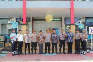 Tingkatkan sinergitas polisional dan kemitraan, Kapolres Serang Kota Silaturahmi ke Kantor Lapas II A Serang