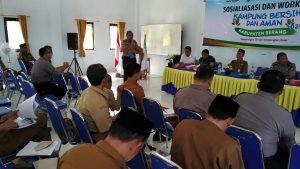 Ditbinmas Polda Banten Adakan Sosialisasi dan Workshop Kampung Bersih & Aman