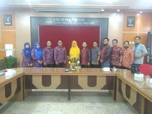 FIKOM UM Metro Mengunjungi UM Malang Dalam Study Banding Lanjutan KKL