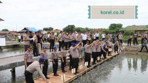 Wakapolda Banten Dampingi Kabaharkam Polri Cek Kesiapan Lokasi Penanaman Mangrove