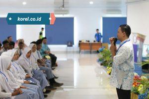 Tambah Wawasan, Pelajar SMK Pesantrean Bustanul Ulum Kunjungan Industri ke IIB Darmajaya