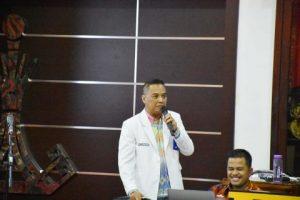 Walikota Metro Datangkan Dokter Spesialis Paru Bahas Corona Di Rakor Bulanan