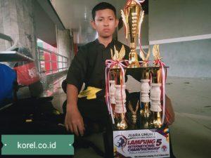 Rebutkan Piala Kemenpora RI, Putra Pimpinan Duta-Pena Raih Juara Tiga Internasional
