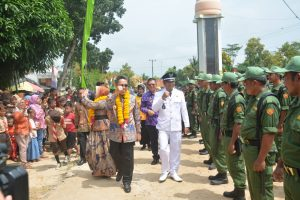 Penilaian Lomdes Berprestasi Dan Pelaksana Terbaik BBGRM Desa Braja Luhur