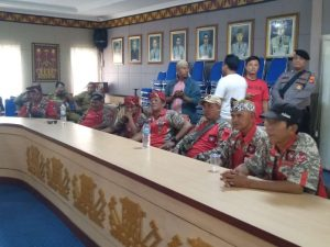 DPD GML Lampura Gelar Aksi Unjuk Rasa Damai Dukung Penegakan Hukum