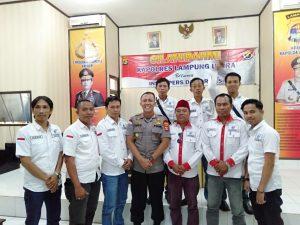 DPC AJO-INDONESIA Lampura Apresiasi Kinerja POLRES, atas Penangkapan HM