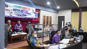 Covid-19, Gubernur Bersama Bupati dan Walikota se-Lampung Lakukan Teleconference