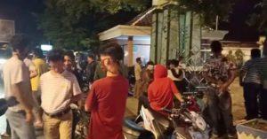 Masyarakat Kota Alam Sambangi Rumah Bupati Lampura , Tolak GSG-IC Dijadikan Isolasi Covid-19