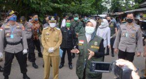 Wagub Lampung , Kunjungi Tim Gugas Lampura Penanggulangan Covid-19