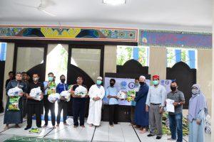 IIB Darmajaya – LAZDAI Lampung Bagikan 100 Paket Sembako
