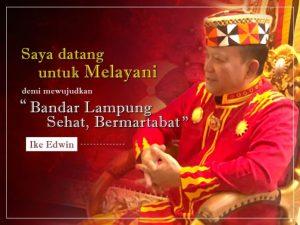 Mengenal Sosok Bakal Calon Wali Kota Bandar Lampung, Ike Edwin