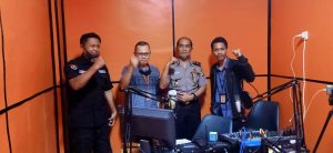 Talkshow di Radio, Bid Humas Polda Banten, Ajak Masyarakat Pelihara Kamtibmas