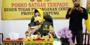 Rapid Tes Dan Surat Izin Keluar Daerah Gratis di Dinkes Lampung