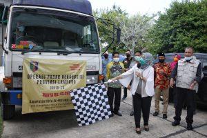Wagub Chusnunia Buka Operasi Pasar Bersubsidi Ketiga di Tulang Bawang Barat