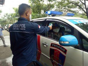 Hadapi New Normal, Tim Urdokkes Bagsumda Polresta Tangerang Kota Terapkan Protokol Kesehatan