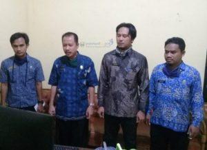Diskominfo Pesibar Rapat Virtual dengan Kementrian dan Kominfo Se-Indonesia