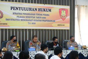 Bidkum Polda Banten Lakukan Giat Penyuluhan Hukum Di Polres Jajaran