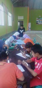 Kades Sriwijaya Gratiskan Pemakaian Jaringan WFI Kepada Anak belajar Daring