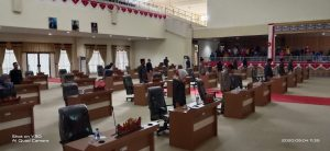 Sidang Paripurna DPRD Mesuji Molor , Diskor 2 x 30 Menit.