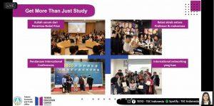 TEC Online Sharing Session Studi dan Beasiswa ke Taiwan IIB Darmajaya