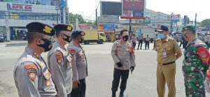 Kapolda Banten Tinjau Pengamanan Aksi Damai Buruh Terkait UU Cipta Kerja
